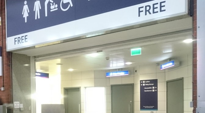 Yorkshireman disappointed that London train station toilets now free to use