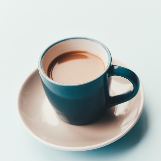People who drink neither tea nor coffee are not to be trusted